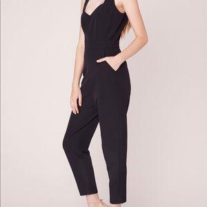 NWT ModCloth x BB Dakota Black Jumpsuit Size 4